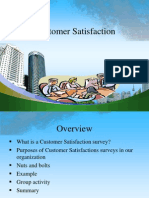 Customer Satisfaction PPT @ BEC DOMS 2010