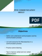 Effective Communication Skill Ppt @ Bec Doms Mba