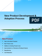 New Product Development & Adoption Process PPT @ BEC DOMS MBA 2010