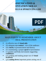Oral Communication Skill Ppt @ Bec Doms Mba