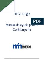 Manual Para El Uso Del Programa Declar@7[1]