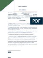 Contrato de Mandato Modelo
