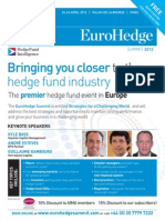 EuroHedge Summit 2012 Brochure