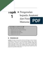 Topik 1 - Pengenalan Kepada Anatomi dan Fisiologi