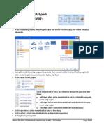 Membuat SmartArt Dan Grafik Pada Microsoft Excel 2007