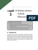 Topik 3 - Sistem Endokrin, Pencernaan dan Perkumuhan