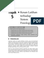Topik 5 - Kesan Latihan Terhadap Sistem Fisiologi