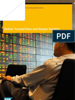 Deliver Trusted Data and Deeper Insights