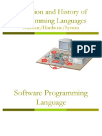 Lec 3 - Programming Language