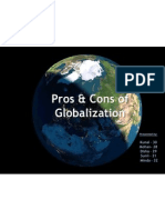 Globalisation-Pros & Cons