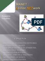 Mobile Ad-hoc Network