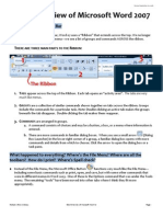 Short Overview of Microsoft Word 2007