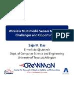 ICCCN 2011-Wireless Multimedia Sensor Networks-Sajal K
