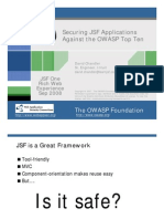Securing Jsf Applications Against Owasp Top Ten Color