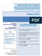 Reporte N°96 - Febrero_2012