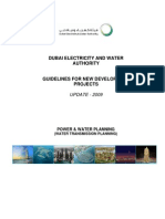 Guidelines for New Development Projects -Update 2009