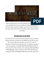War of the West Mod Overview