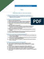 Guía del profesor de la Facultad de Ciencias
