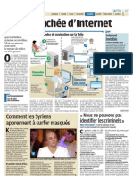 Internet Invisible - Le Parisien - 13 mars 2012
