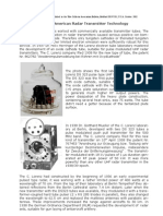 11. Early German Airborne Radar Transmitter Technology Updated