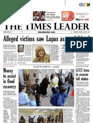 Times Leader 03-14-2012   Wilkes Barre   Gaza Strip