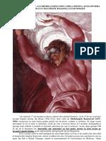 MESAJ SECRET A LUI MICHELANGELO DIN CAPELA SIXTINĂ PRIVIND DUMNEZEU