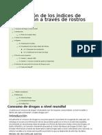 a Vizualización de Los índices de Drogadicción a Travéz de Rostros