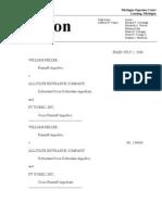 2008-07-02.Miller v Allstate Insurance (Mich Sup Ct)