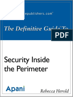 The Definitive Guide to Security Inside the Perimeter