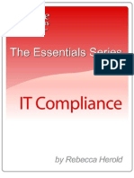 The Essentials Series IT Compliance