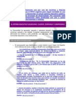 Desmontada la Carta manipulativa sistema educatiu valencià