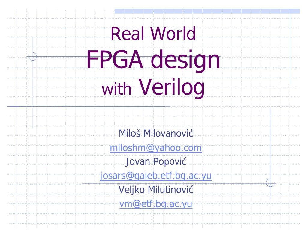 Fpga Verilog Digital System Design Navabi 1999 Pdf Iozauddy