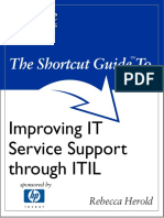 The Shortcut Guide to Improving IT Service Support Through ITIL