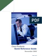 Reference Guide November 2003
