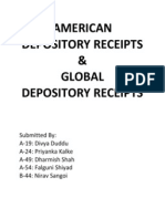 American Depository Receipt New