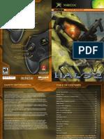 Halo Manual En