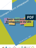 Catalogue Santé & Environnement