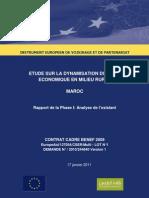 Etude AGR INDH-Partie I -Rapport