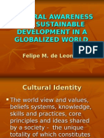 Cultural Awareness for Sustainable Development in a Globalized World2 (Desiree Anonat's Conflicted Copy 2012-02-10)