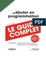 Debuter.Programmation