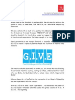G.I.V.E the Concept