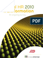 ADP Global HR Transformation Survey 2010