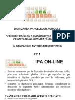 Utilizare IPA Online - Fermier Fara Solicitari SAPS Ante Rio Are