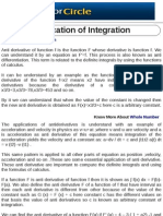 Application of Integration