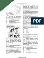 exercícios de demografia geral, nacional, catarinense e teorias demográficas ifc