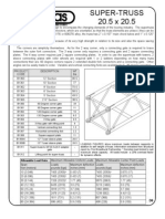 14.5.2 - James Thomas Super Truss Data Sheet