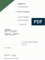 Esempio Certificato Di Residenza