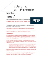 Examen Lengua Tema 7 1E Corregido