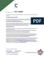 National Year of Reading Literacy Factsheet