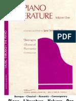 Methode - Piano Literature Vol 1 (Bastien)